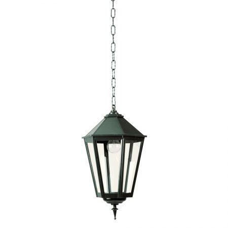 Sekskantet lampe i kæde   klassiske smukke lamper   herregårdsstil