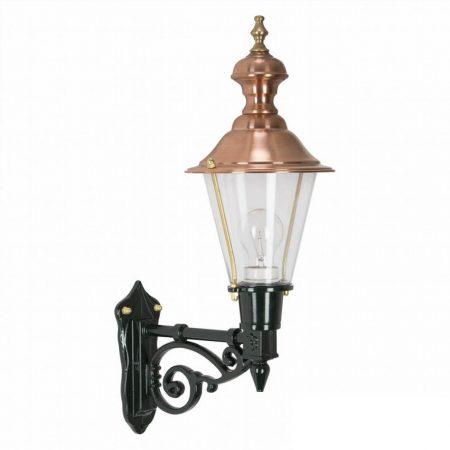 Væglampe Edam Kobberlampe i klassisk stil. Lille væglampe