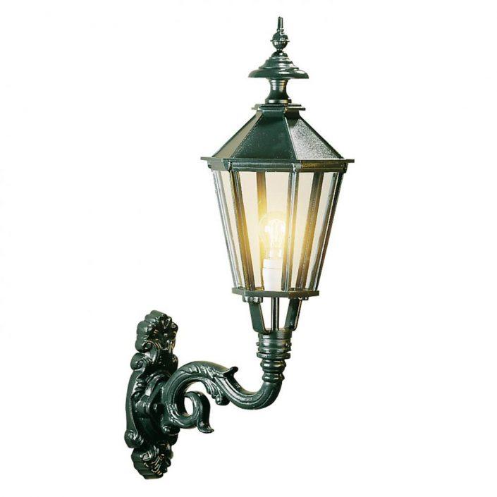 M 33 væglampe | klassiske udendørslamper | klassisk mørkegrøn | sort væglampe