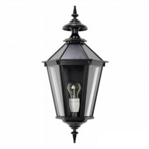 Oxford 10 murlampe | 6 kantet klassisk herregårds | støbejern