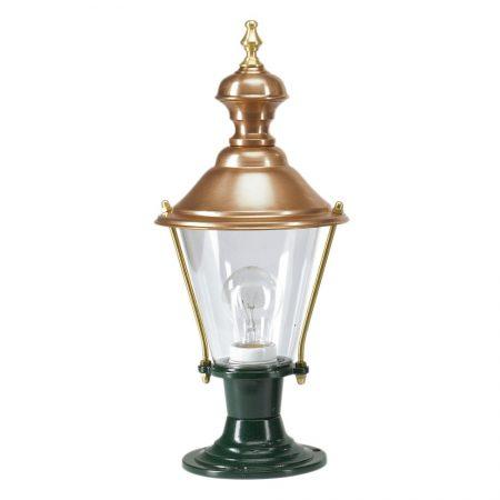 Bedlampe kobberlampe