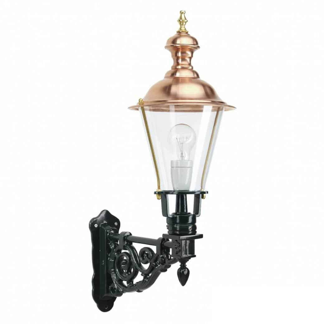 Kobberlamper, væglampe, Durgerdam, lamper