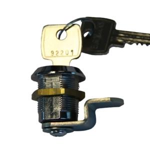 Lås med nøgle til postkasse