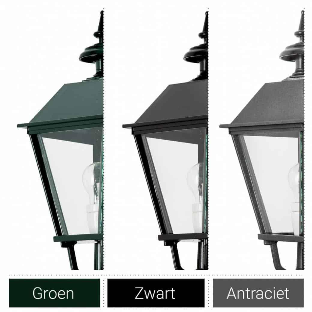 Klassisk mørkegrøn, sort eller antrecit