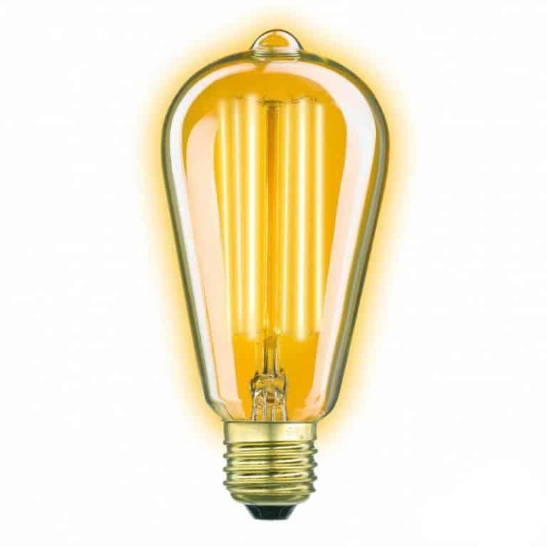 3857 Classic Gold rustic LED 4W