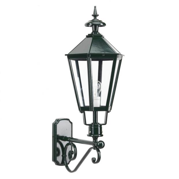Loenen væglampe | stor udendørs væglampe | smuk klassisk værglampe | smedejern