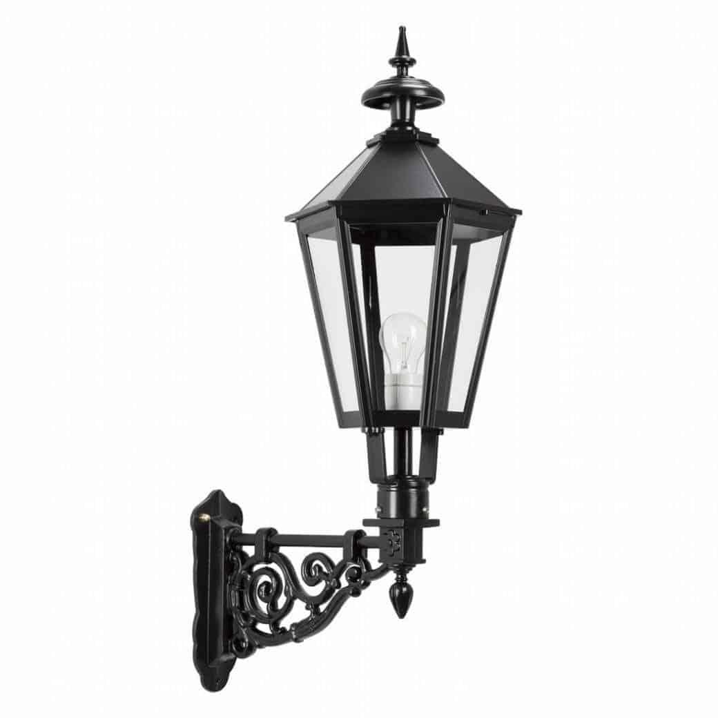 Weesp væglampe | sekskantet udendørs lampe klassisk herregårdsstil