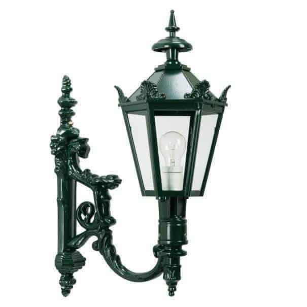 Væglampe Charles med kroner herregårdslampe