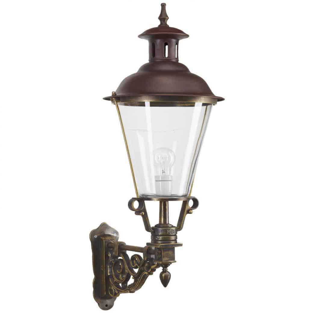 udendørs bronzelampe