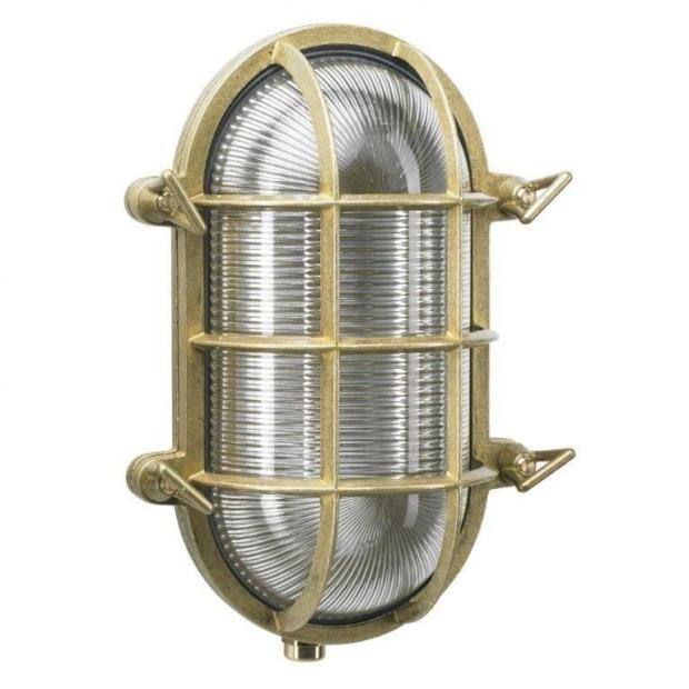 Skibslampe Nautic. Messinglamper. Murlamper. Eksklusive lamper